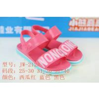 爆夏季新款韩版可爱甜美公主PVC大中小童凉鞋软底防滑凉鞋批发