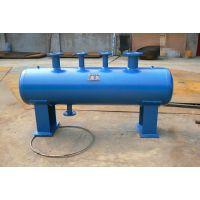 源益厂家可图纸定做碳钢分集水器直径400蒸汽管道分气缸