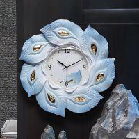 一件代发钟表挂钟客厅大气钟创意装饰家用时钟时尚静音艺术挂表伴