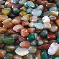 玛瑙碎石 供佛修曼扎玛瑙石颗粒