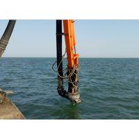 沿海碎石滩整治清理 挖机搅拌砂浆泵 挖机耐磨抽沙泵