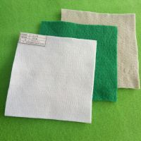 厂家直销 土工布400g国标白色涤纶短丝土工布