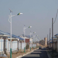 承运供应BY106广西美丽乡村建设新农村太阳能路灯7米45W户外照明一体化超亮路灯景观灯庭院灯