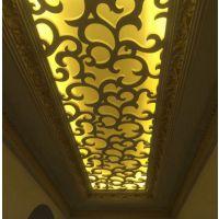 镂空雕花PVC通花板   屏风隔断吊花   客厅卧室酒店背景墙格定做