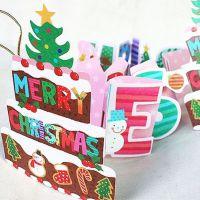 小马百货 创意家居批发 新款 创意 立体折叠 精美潮圣诞 贺卡