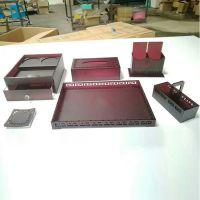 厂家定制 半透红亚克力酒店用品 台卡 纸盒名片盒 欢迎来电咨询