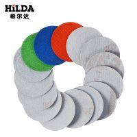 厂家直销2寸圆盘砂纸 自粘式砂盘 拉绒片 背绒片 植绒砂纸片