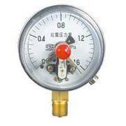 德胜供应YNXC-100耐震电接点压力表 支持非标定制 欢迎新老客户订购