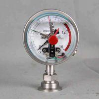 德胜YAXC-100氨用电接点压力表φ100量程0-0.1MPa如何选购