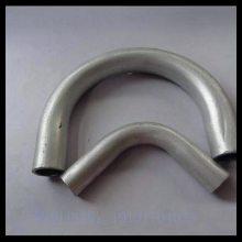 沧州汇鹏 铝合金大弯 煨制铝弯头DN80 煨制大弯 3D 4D 6D 90度铝煨制大弯 厂家直销