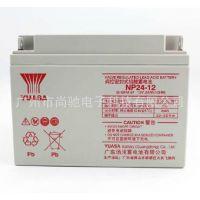 YUASA 汤浅电池 12V24AH 蓄电池 NP24-12 UPS电池 直流屏电池