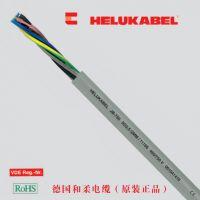 德国和柔JB-750 彩色线芯柔性控制电缆,灰色外护套 Helukabel