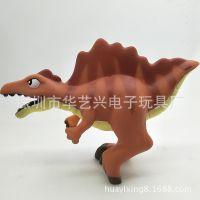 专业搪胶卡通动物发声玩具恐龙暴龙公仔玩偶来图来样设计厂家定制