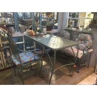 清新复古铁制餐桌酒吧桌子现货批发 创意餐厅家具厂家定制