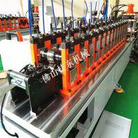 桂东铝合金过线板成型机械 隐藏式扣板生产设备 精密滑轨机