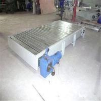 玻璃制品链板输送机厂家直销耐用 直线型链板输送机分类制造厂家自贡