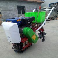 农用玉米施肥机 大马力汽油播种机 柴油链轨精播机