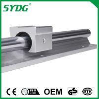 SBR/TBR铝托光轴重型滑轨直线导轨精密木工推台锯平移门圆棒轨道滑块