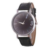 SPIKE热销亚马逊爆款时尚数字皮革表带学生石英手表
