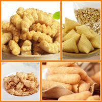 膨化休闲食品机械 油炸休闲食品生产线 新型小型食品加工设备