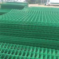 浸塑双边护栏网 铁路框架护栏网 机场Y型折弯护栏网