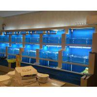 深圳酒店海鲜池专业定做|深圳哪里可以专业定做海鲜鱼池|深圳商场超市定做海鲜鱼池