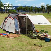 牧高笛帐篷户外用品  多人双层野营帐篷 正品追梦厂家现货批发