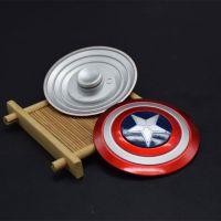 美漫美国队长电影周边产品 美国队长盾牌 成人手指陀螺 减压玩具