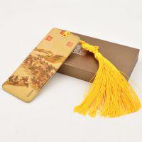 中国风创意丝绸古典书签礼物送同学老师毕业礼品北京特色礼物