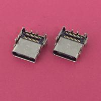 富士康原装TYPE-C母座/USB 3.1板上双贴六脚插板SMT/双排贴板接口