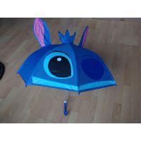 耳朵伞 儿童伞立体、创意造型儿童伞定制、卡通雨伞定制