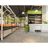 郑州生鲜超市装修公司天恒装饰水果生鲜超市设计案例
