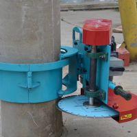 大功率管桩切割机 水泥预制管桩切割机 新款卡箍式切桩机