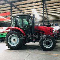 平原地耕种的四轮拖拉机 超大马力的四轮拖拉机价格
