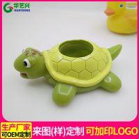 工厂来图来样定制医用按摩青蛙乌龟鸭子 搪胶搪塑PVC玩具配件生产