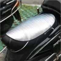 气泡海绵隔热垫夏季超实用电动车防晒垫海绵隔热垫摩托车防水坐垫