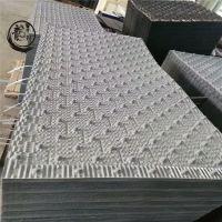 荏原冷却塔填料PVC荏原冷却塔填料厂家灰色方型散热片——河北龙轩