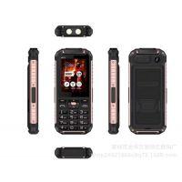 超薄直板XP6000三防手机 超长待机 双卡双待户外手机外贸热销