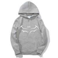 Batman 蝙蝠侠欧美个性潮流3D卡通印花连帽衫套头卫衣男女春秋装