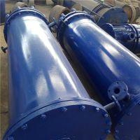 圆块孔式石墨冷凝器可简化工艺过程