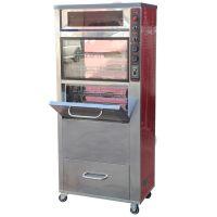 168型烤地瓜机 豪华型30公斤电烤地瓜机 商用带LED灯烤红薯机机器