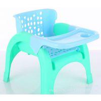 儿童加大餐椅带餐盘洗头椅宝宝吃饭桌椅多功能可拆卸小凳子 赠品