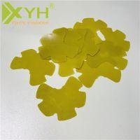 黄色纤维板 阻燃隔热绝缘板 来图精雕加工环氧板