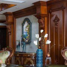 长沙原木全房家具产品、原木酒柜门订做材质鉴别