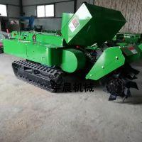 丘陵山地果园开沟机 履带式果园开沟机 农业种植土壤耕种机械
