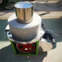 石磨碾转机价格 两相电家用青麦条加工用捻转 豆腐石磨价格
