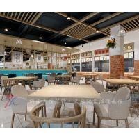 新乡学校餐厅装修设计公司|中原文化艺术学校餐厅案例赏析