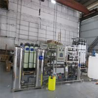 柳州柳城桶装水生产线矿泉水设备 华兰达厂家直饮水超滤设备