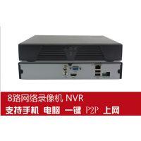 8路网络硬盘录像机 8路1080P高清数字NVR 支持电脑手机远程