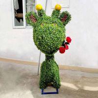 不同的绿雕雕塑造型 仿真绿雕设计 绿雕样式